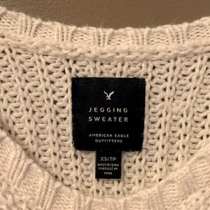 Jegging Knit Sweater
